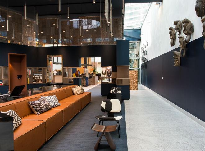 Tribes Eindhoven, Harmeling Interieurconcepten, stoffering Ohmann ...